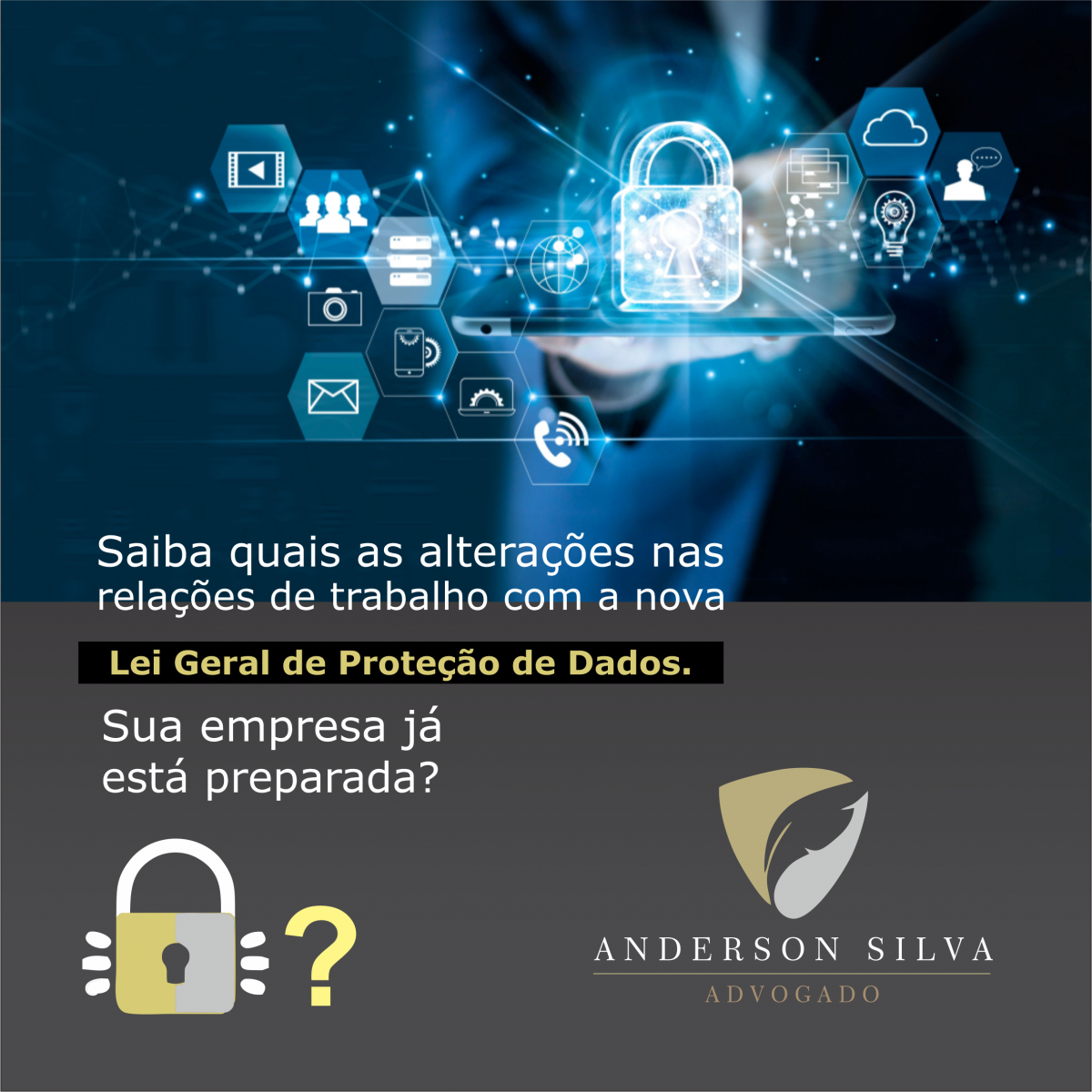 Nova Lei Geral de Proteção de Dados
