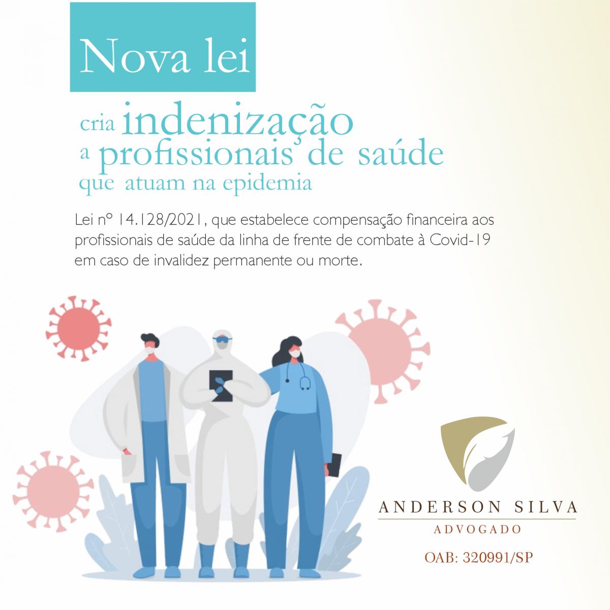Nova lei cria indenização a profissionais de saúde que atuam na epidemia