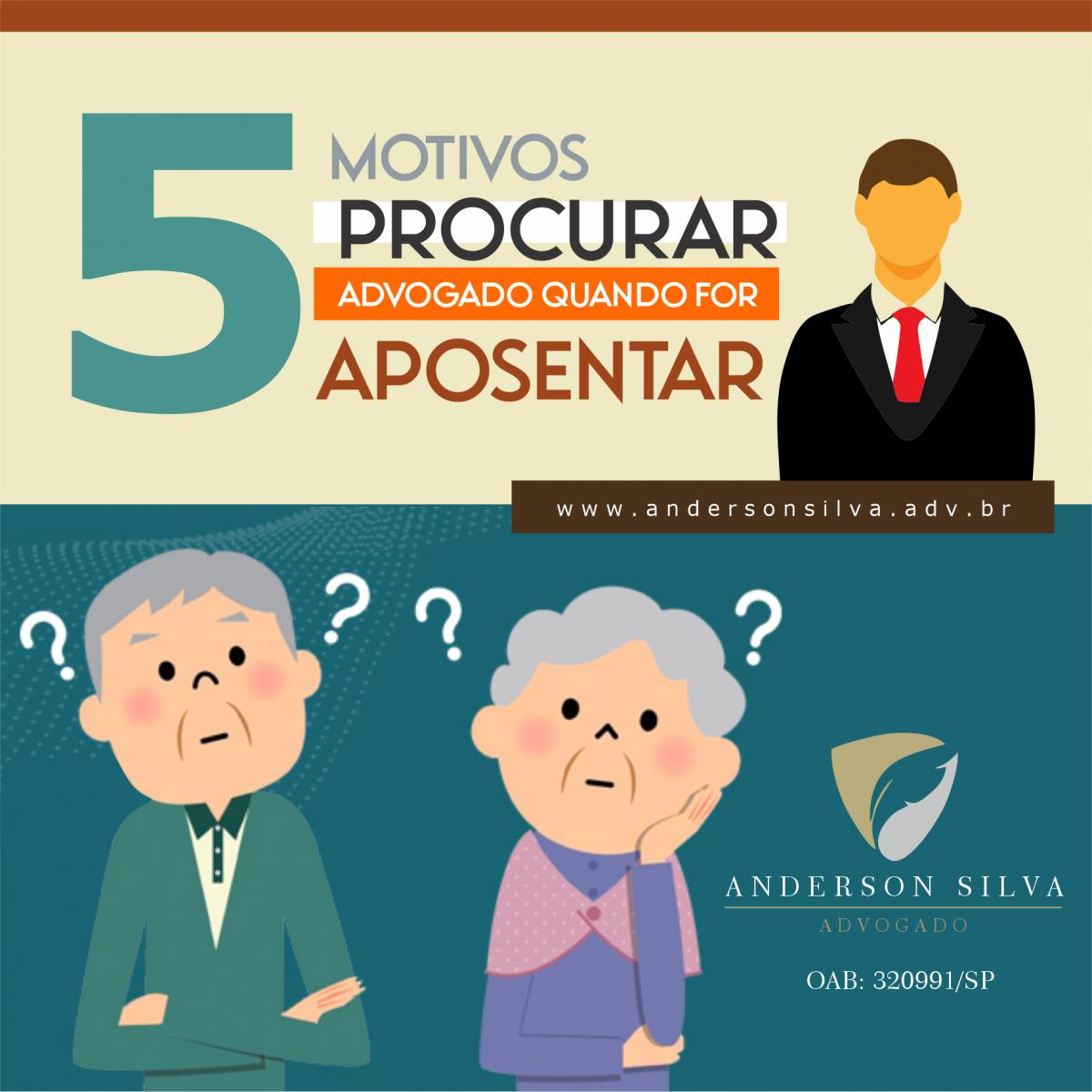 5 motivos para ter um advogado ao seu lado na hora de se aposentar
